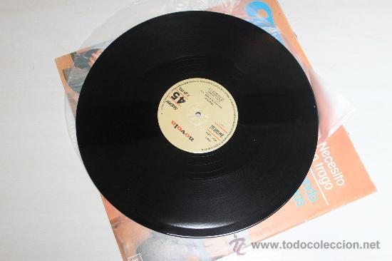 Discos de vinilo: TEQUILA - NECESITO UN TRAGO / BUSCANDO PROBLEMAS NUEVO!!! - Foto 3 - 37455447