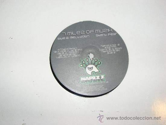 1 DISCO VINILO - 33 RPM - EP - AÑOS 90 - A MILES OF MUSIK ( MELTDOWN - FEAR ) (Música - Discos de Vinilo - EPs - Disco y Dance)