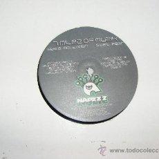 Discos de vinilo: 1 DISCO VINILO - 33 RPM - EP - AÑOS 90 - A MILES OF MUSIK ( MELTDOWN - FEAR ). Lote 37456802