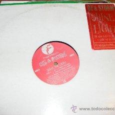 Discos de vinilo: 1 DISCO VINILO - 45 RPM - EP - AÑOS 90 - OZ & STORM - SHINE THE LIGHT ( IMALSYMBUR'S ORBIT - ETC. Lote 37456991