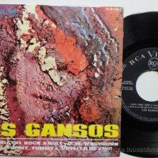 Discos de vinilo: LOS GANSOS LA HISTORIA DEL ROCK & ROLL +3. SPANISH EP PROMO 1968. MINT.IMPECABLE.NUEVO A ESTRENAR. Lote 37457099