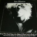 Discos de vinilo: MOTT THE HOOPLE, IAN HUNTER / ALL OF THE GOOD ONES ARE TAKEN / THAT GIRL IS ROCK N`ROLL ! RARO !! EX. Lote 37461232
