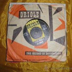 Discos de vinilo: THE SPOTNICKS. HAVA NAGILA / HIGHFLYIN´SCOTSMAN. ORIOLE EDICION INGLESA 1963. Lote 37461435