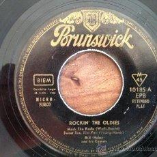 Discos de vinilo: BILL HALEY - EP ESPAÑOL 1960 - SOLO DISCO. Lote 37461534