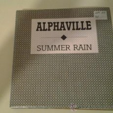 Discos de vinilo: ALPHAVILLE - SUMMER RAIN (PEDIDO MINIMO 6 EUROS). Lote 37471530