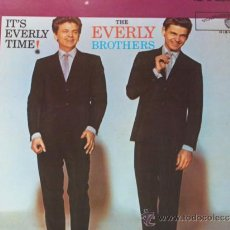 Discos de vinilo: THE EVERLY BROTHERS,IT´S EVERLY TIME EDICION ALEMANA. Lote 37468103