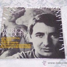 Discos de vinilo: PATRICK JACQUE EP EL 23 DESEMBRE + 3 (1968) VILLANCICOS-CANTA CATALAN. Lote 37470163