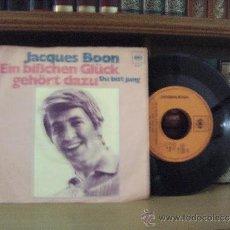 Discos de vinilo: JACQUES BOON. Lote 37474456