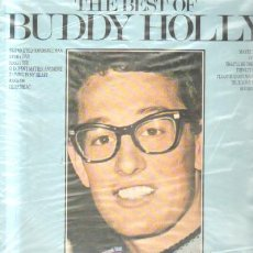 Disques de vinyle: THE BEST OF BUDDY HOLLY D-SOLEXT-833. Lote 37479312