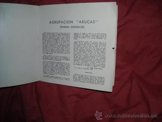 Discos de vinilo: AGRUPACION ARUCAS FAMILIA GONZALEZ CANTA CHECHA CANCION CANARIAS EP - Foto 2 - 37480125