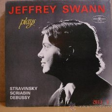 Discos de vinilo: JEFFREY SWANN - PLAYS STRAVINSKY / SCRIABIN / DEBUSSY - POLSKIE NAGRANIA MUZA SX 1113. Lote 37481030