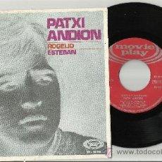 Discos de vinilo: PATXI ANDION SINGLE ROGELIO ESPAÑA 1969. Lote 44278359