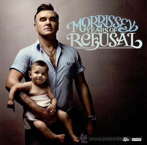 LP MORRISSEY YEARS OF REFUSAL THE SMITHS VINILO (Música - Discos - LP Vinilo - Pop - Rock - New Wave Extranjero de los 80)