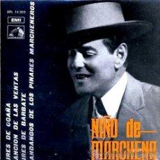 Discos de vinilo: NIÑO DE MARCHENA (PEPE MARCHENA) - AIRES DE OCAÑA - 1966 . Lote 37488336