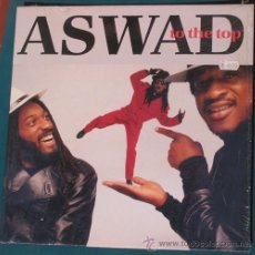"Disques de vinyle: LP ASWAD ""TO THE TOP"" (ISLAND, 1987). Lote 37490629"