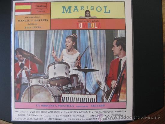 MARISOL LP TOMBOLA - BRASIL (Música - Discos - LP Vinilo - Solistas Españoles de los 50 y 60)