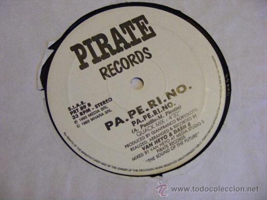 1 DISCO VINILO - 33 RPM - EP - AÑO 1993- PA.PE.RI.NO ( BIZARRMIX - CLUB MIX (Música - Discos de Vinilo - EPs - Disco y Dance)