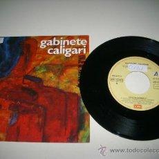 Discos de vinilo: GABINETE CALIGARI VIAJE AL AVERNO / EL EXTRANJERO (1992 EMI ESPAÑA) PROMO JAIME URRUTIA . Lote 37511830