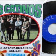 Discos de vinilo: LOS CATINOS LA LEYENDA DE XANADU +3. SPANISH EP PROMO 1968. MINT.IMPECABLE.NUEVO.. Lote 37514413