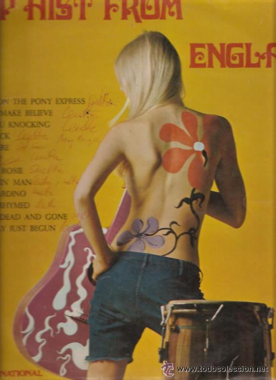 DISCO VINILO TOP HITS FROM ENGLAND AÑOS 70 (Música - Discos - LP Vinilo - Rock & Roll)