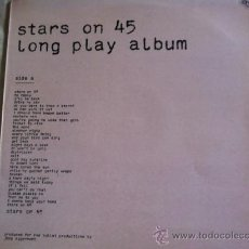 Discos de vinilo: LP-STARS ON 45-LONG PLAY ALBUM. Lote 37509365
