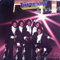 Discos de vinilo: LP THE TEMPTATIONS-HEAR TO TEMPT YOU-GERMANY. Lote 37513581