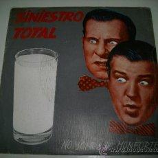 Discos de vinilo: SINIESTRO TOTAL NO SOMOS DE MONFORTE / LUNA SOBRE MARIN (1983 DRO ESPAÑA) RARO Y DIFICIL. Lote 37521002