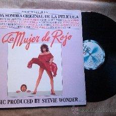 Discos de vinilo: STEVE WONDER - - LA MUJER DE ROJO (LP, ALBUM, GAT). Lote 37522284