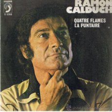 Discos de vinilo: RAMÓN CALDUCH - QUATRE FLAMES - SARDANA LA PUNTAIRE - 1976. Lote 37545093