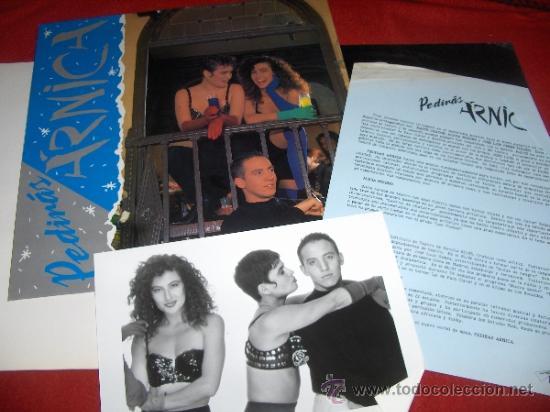 Discos de vinilo: PEDIRAS ARNICA Folder CARPETA PROMO 1988 Mister Box + LP + FOTO + HOJA PROMO - Foto 2 - 37539945