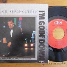 Discos de vinilo: BRUCE SPRINGSTEEN `I´M GOING DOWN`. Lote 37531330