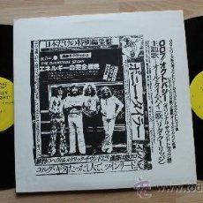 Discos de vinilo: LED ZEPPELIN ON TOUR THE BACKSTAGE STORY RARISIMO DOBLE LP. Lote 37541192