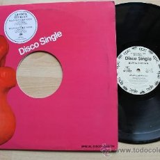 Discos de vinilo: GLORIA ESTEFAN HEAVEN´S WHAT I FEEL DISCO SINGLE PROMOCIONAL. Lote 37541586