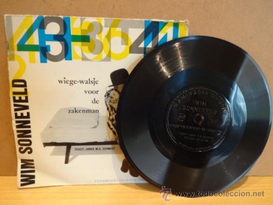 WIM SONNEVELD.WIEGE-WALSJE VOOR DE ZAKENMAN.FLEXIDISC HOLANDÉS BLIKMAN & SARTORIUS 33 R.P.M. ***/*** (Música - Discos - Singles Vinilo - Otros estilos)