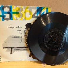 Discos de vinilo: WIM SONNEVELD.WIEGE-WALSJE VOOR DE ZAKENMAN.FLEXIDISC HOLANDÉS BLIKMAN & SARTORIUS 33 R.P.M. ***/***. Lote 37559697