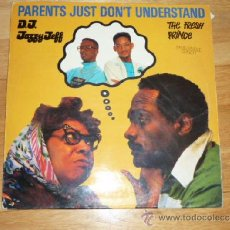 Discos de vinilo: DJ JAZZY JEFF & THE FRESH PRINCE - PARENTS JUST DON'T UNDERSTAND (JIVE / ZOMBA 1988) WILL SMITH. Lote 183992937