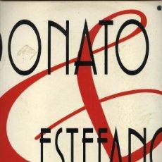 Discos de vinil: DONATO Y ESTEFANO - Y BAILO . Lote 37544982
