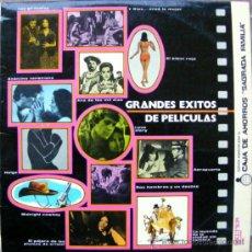 Discos de vinilo: GRANDES EXITOS DE PELICULAS . Lote 37551871