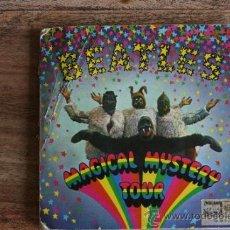 Discos de vinilo: THE BEATLES - DOBLE EP MAGICAL MISTERY TOUR - MONO REF SOLM 1-2 - EDICION ESPAÑOLA. Lote 37554506