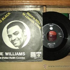 """Discos de vinilo: GENE WILLIAMS """"MY SOUL IS BLACK / ROCK'N ROLL IN LONDON TOWN. Lote 37555709"""