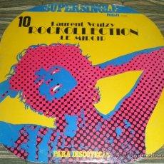 Discos de vinilo: LAURENT VOULZY - ROCKOLLECTION MAXI SINGLE 45 - ORIGINAL ESPAÑA - RCA RECORDS 1977 - ORANGE LABEL -. Lote 37564675