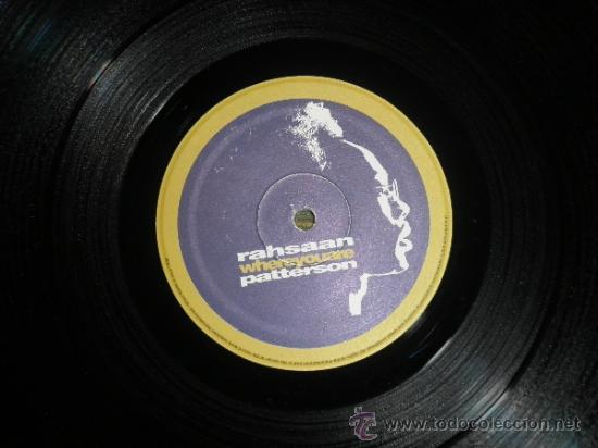 Discos de vinilo: RAHSAAN PATTERSON - WHERE YOU ARE MAXI EP 33 R.P.M.- 12 PULGADAS - ORIGINAL ITALIA - UNIVERSAL 1988 - Foto 3 - 37565303