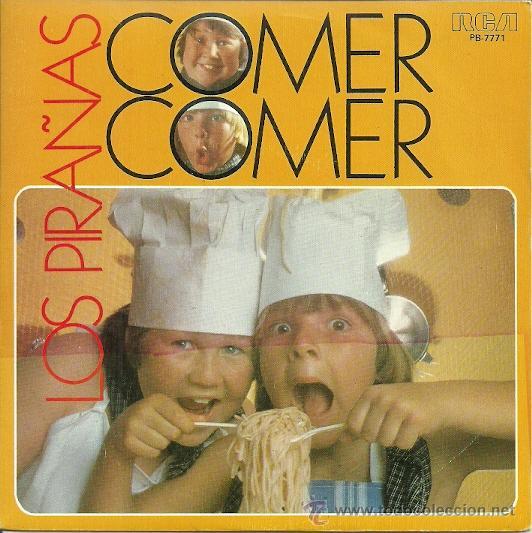 LOS PIRAÑAS SINGLE SELLO RCA VICTOR EDITADO EN ESPAÑA AÑO 1982 (Música - Discos - Singles Vinilo - Música Infantil)