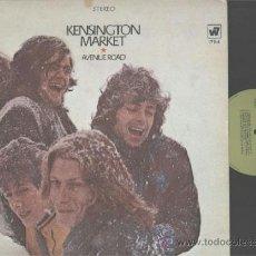 Discos de vinilo: 1º LP 1968 PSICODELIA ORIG USA KESINGTON MARKET AVENUE ROAD VG++/EX+NM. Lote 37568644