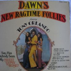 Discos de vinilo: LP - DAWN FEAT. TONY ORLANDO - NEW RAGTIME FOLLIES (SPAIN, BELL RECORDS 1973). Lote 37569314