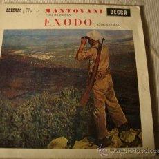 Discos de vinilo: DISCO SINGLE EXODO. Lote 37570826