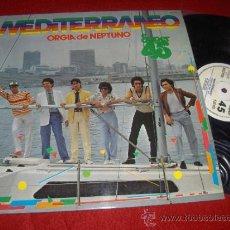 Discos de vinil: MEDITERRANEO ORGIA DE NEPTUNO / VERSION INSTRUMENTAL MX 12