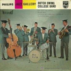 Discos de vinilo: THE DUTCH SWING COLLEGE BAND EP SELLO PHILIPS EDITADO EN HOLANDA. Lote 37573086