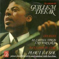 Discos de vinilo: GUILLEM D´EFAK EP SELLO CONCENTRIC EDITADO EN ESPAÑA AÑO 1966. Lote 37589883