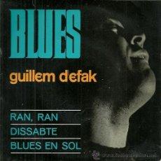 Discos de vinilo: GUILLEM D´EFAK EP SELLO CONCENTRIC EDITADO EN ESPAÑA AÑO 1965. Lote 37589915